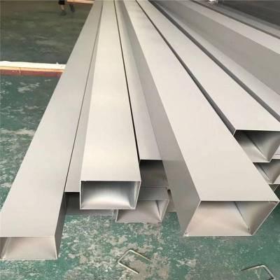 铝合金木纹方管规格 铝合金方管50x100价格 规格齐全 厂家定制_欧百得