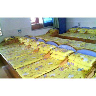 供应成都幼儿园床上专用床上用品,被套,棉絮