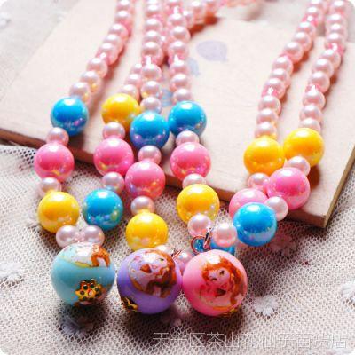 儿童饰品 公主珍珠项链套装 女童服装配饰 批发 手链儿童发饰