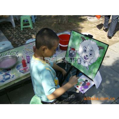 供应彩沙画 闪光画 金粉画 儿童砂画 木板彩泥画 彩绘陶瓷加盟