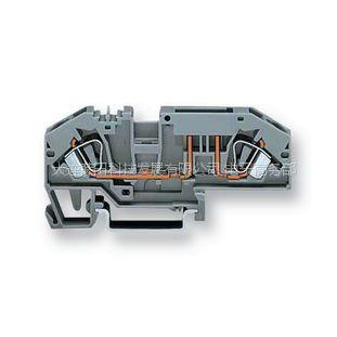 供应原装进口WAGO - 282-696 - 接线端子 DIN 插片式保险丝