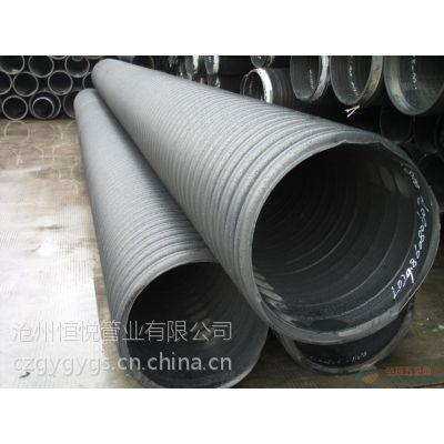 大口径排水管HDPE钢带增强波纹管供应厂家