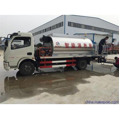 成都高速公路建设专用车型号厂家东风多利卡6方沥青洒布车