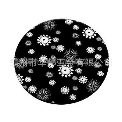 供应长期厂价直销 不锈钢镀黑钛圆桌面(φ1200)