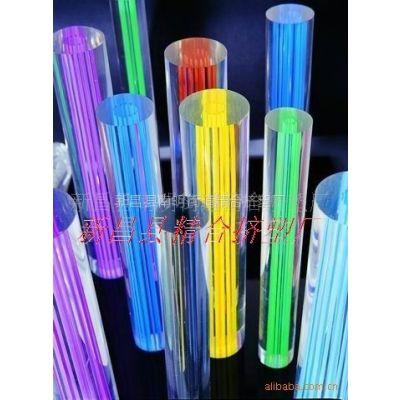 供应亚克力起气泡棒,透明棒,彩色棒,异形材等
