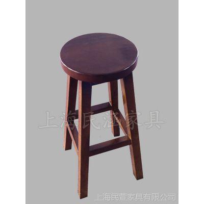实木酒巴椅,西餐厅桌子,实木椅子