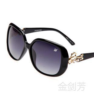 091太阳镜女款 潮人墨镜 高端品牌眼镜 批发防紫外线偏光镜