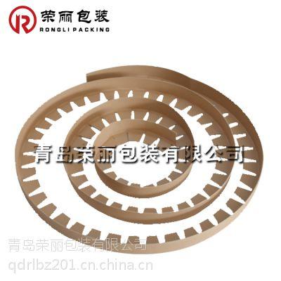 山东纸护角厂家供应青州无纺布包装护角条 硬度好可出口