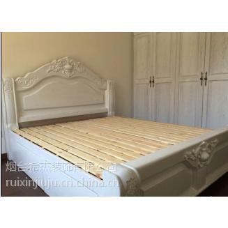 烟台瑞馨家具定制欧式床,白橡水曲柳