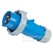 供应厂家直销启星QX290 3P/32A IP67工业插头