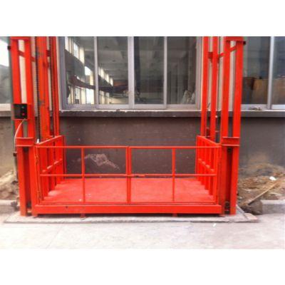 珲春市升降机品牌 轨道式升降货梯的设计原图与设计理念