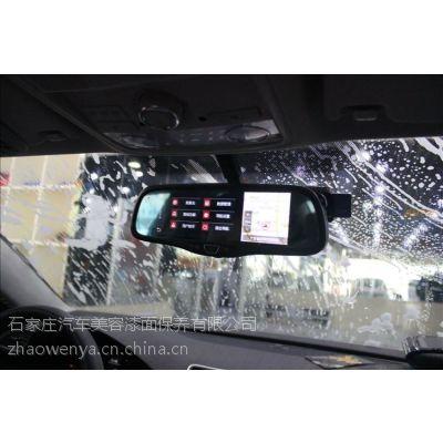 石家庄壹捷多功能后视镜小凯语音导航行车记录仪一体机