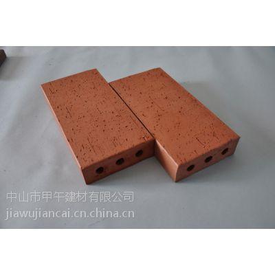 人行道改造和小区用的优质陶土烧结砖和红色烧结砖以及陶瓷透水砖