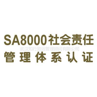 供应SA8000社会责任标准体系认证咨询
