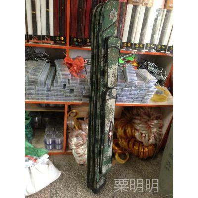 正品迷彩1.2米双层直杆包单层提琴大肚带支架渔竿包渔具包台钓包