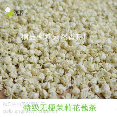 特级茉莉花干茉莉花苞茶广西横县厂家直供花草茶批发
