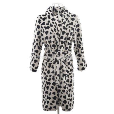 供应批发外贸大牌超好质量 珊瑚绒浴袍,冬季保暖浴袍