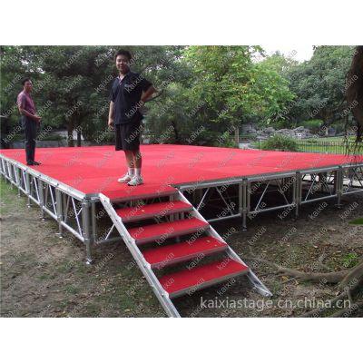 供应郑州可调高度1米高舞台搭建