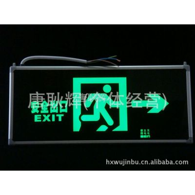 供应新国标π拿斯特消防应急灯 应急标志指示牌 安全出口右方向