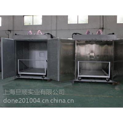 上海旦顺辊轮传动烘箱,推车大型防爆烘箱