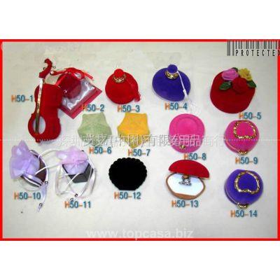 供应【艾嘉】珠宝首饰包装-植绒包装盒-- 高档植绒盒