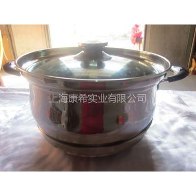 供应免火再煮锅 节能锅 不锈钢5-7L+锅 礼品锅