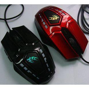 供应正品幽灵战狼 游戏鼠标 有线鼠标 6D变速 台式机 笔记本