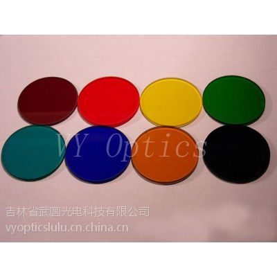 Different sizes of optical color Filters