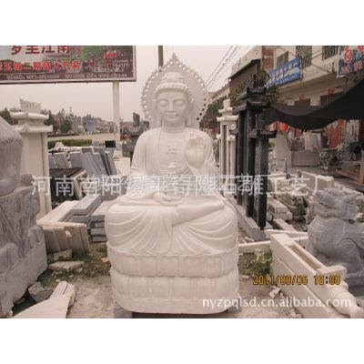 供应精工细作南阳石雕汉白玉观音石像 大理石,汉白玉雕刻,工艺品