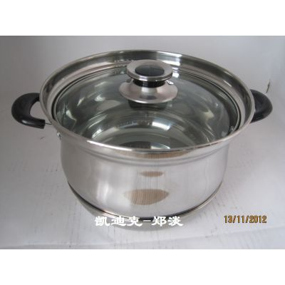 供应优质不锈钢免火再煮节能锅/不锈钢锅生产厂家