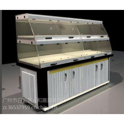 江门面包展示柜、人和展柜(图)、实木面包展示柜