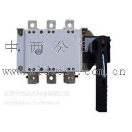 中西供双电源手动转换开关160A,380V,三相/四线型号:SKS1-160库号:M124023