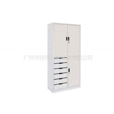 供应广州佳翔办公家具 专业生产 移门地柜 双色更衣柜 密集架