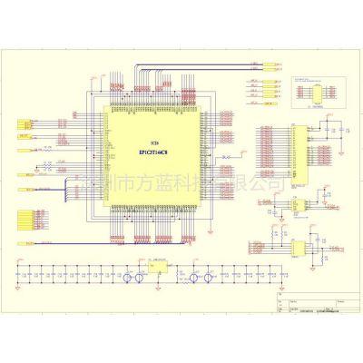 供应PCB设计供应FPGA视频控制部分电路图