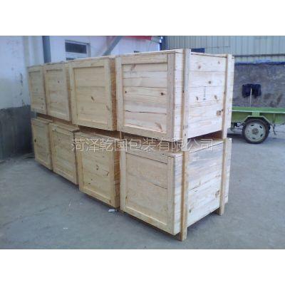 供菏泽木包装箱 出口木包装箱&1-2季度厂家促销价格
