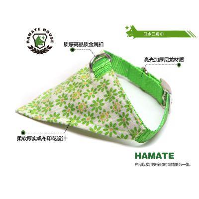 口水巾狗 猫领巾可调节扣式宠物三角巾 泰迪中小型犬猫咪