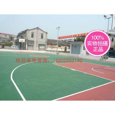 供应顺德篮球场铺设 济南篮球场材料地坪漆 丙烯酸球场高清图片
