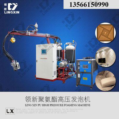 供应高回弹装饰软包板聚氨酯发泡机