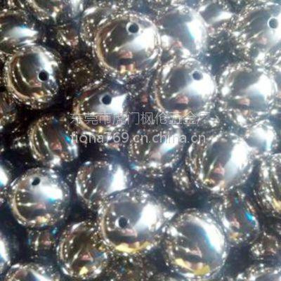 广东精抛光201不锈钢小钢球 不锈钢空心小圆球B32