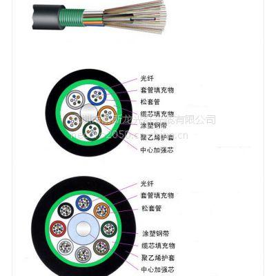 直供耐斯龙16芯多模室外铠装光缆 GYTS-16A1a 架空光缆 可定制