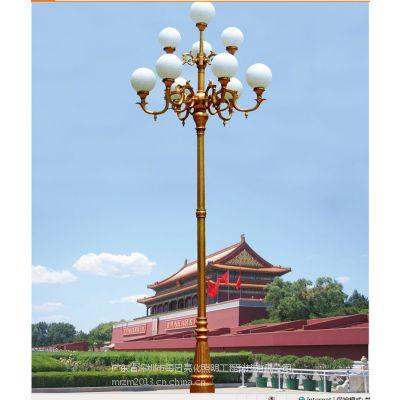 专业生产中华灯厂家 8叉9火庭院广场景观中华灯价格