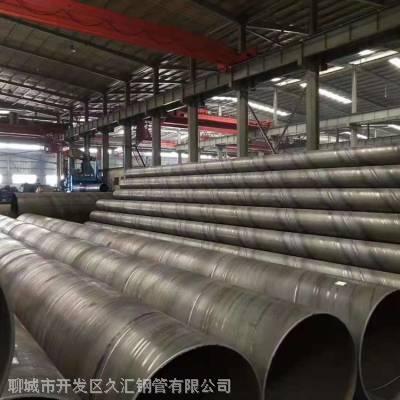 满洲里Q345B材质螺纹焊管 燃气管道螺旋管
