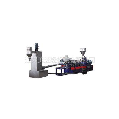 供应供应美芝隆MT75机双螺杆水环切粒机组
