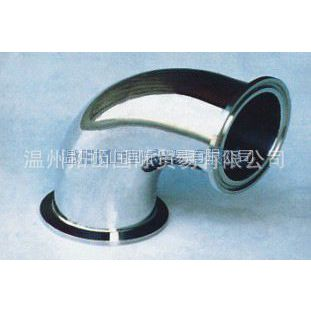 供应 不锈钢卫生级焊接式90°弯头