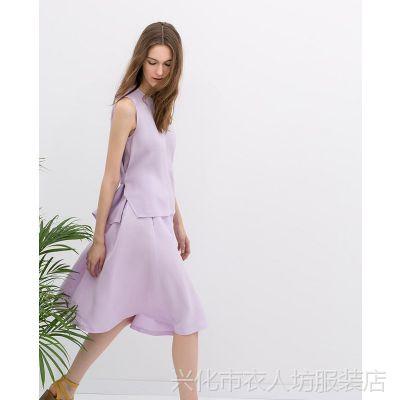 B4 厂家直供 2014欧洲站小香风套装夏季女装新款品牌同款网店代理