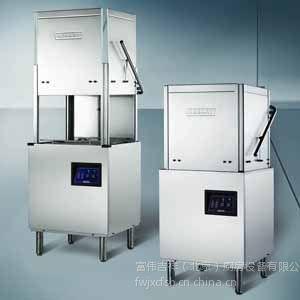供应美国HOBART洗碗机AM60K 霍巴特提拉式洗碗机 豪霸揭盖式洗碗机 酒店洗碗机