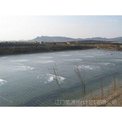水下曝气增氧设备/自动监控水塘氧含量水产养殖风光互补发电