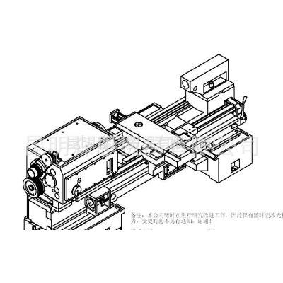 供应台正平床身卧式数控车床光机TOM-TCK6180/1500加工长度1500