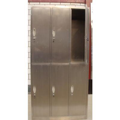 深圳304不锈钢更衣柜价格多少钱一套?