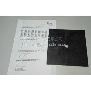 供应德国BAM-E001标准胶 DIN耐磨机专用标准胶